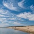 The sand spit.- Morro Bay Harbor