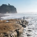 Careful on the bluffs!- Pomponio State Beach