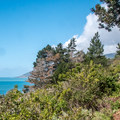 The  trail offers fabulous views right from the beginning.- Kirk Creek / Vicente Flat Trail