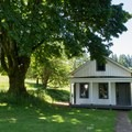 Original Officer's Quarters.- Fort Yamhill State Heritage Area