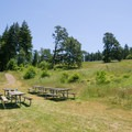 Picnic area.- Fort Yamhill State Heritage Area