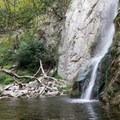 Sturtevant Falls.- Sturtevant Falls from Chantry Flat