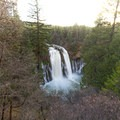 Falls after a rain from the viewpoint.- McArthur-Burney Falls Memorial State Park