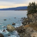 Looking north towards the Redwood National and Sate Park coastline from Patrick's Point.- Redwood National + State Parks