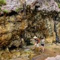 Hiking Goldstrike Hot Springs.- Goldstrike Hot Springs