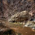 Hiking to Goldstrike Hot Springs.- Goldstrike Hot Springs