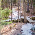 Early spring hikers will find plenty of snow on the trail- Camels Hump Via the Monroe Trail