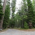 Entrance to Pebble Ford Campground.- Pebble Ford Campground