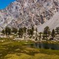 Camp Lake. - Meysan Lake Trail