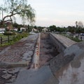Historic wash basins/lavanderia. - Old Mission Santa Barbara