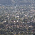 View over old Santa Barbra Mission area.- Inspiration Point