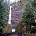 The trailhead at Multnomah Falls.- Franklin Ridge Loop Hike