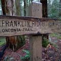 Franklin Ridge Trail.- Franklin Ridge Loop Hike
