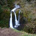 Triple Falls.- Franklin Ridge Loop Hike