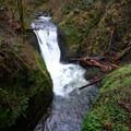 Upper Oneonta Falls.- Franklin Ridge Loop Hike