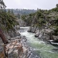 The Emerald Pools are on the South Fork Yuba River.- Emerald Pools