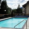 Heated outdoor pool. - Crystal Lodge