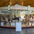 The Rose Carousel in the Butchart Gardens.- The Butchart Gardens