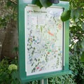 Maps are located throughout the gardens.- The Butchart Gardens