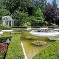 The Star Pond in the Butchart Gardens.- The Butchart Gardens