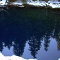 Tamolich Pool, also known as Blue Pool.- McKenzie River Trail: Trail Bridge to Tamolitch Pool