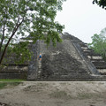 Temple 5C-49, otherwise known as Templo Talud-Tablero, in the Lost World part of Tikal National Park.- Tikal National Park