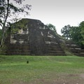 The Great Pyramid located in the Lost World area of Tikal National Park is the oldest known building.- Tikal National Park
