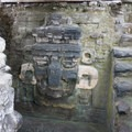 Chac stucco mask, Temple 33, North Acropolis.- Tikal National Park