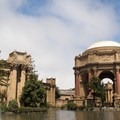 Left side of the Palace of Fine Arts.- Palace of Fine Arts