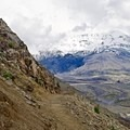 A narrow and scenic section of the trail to Harry's Ridge.- Harry's Ridge via Johnston Ridge Observatory