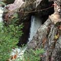 Pot Hole at High Falls.- High Falls Gorge