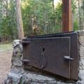 Some sites have a griddle/grill in addition to one in the fire pits.- Hole-in-the-Ground Campground