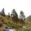 Parking for Swakane Canyon.- Swakane Canyon