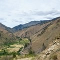 View of the valley from the trail's midpoint.- Swakane Canyon