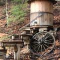Mining camp display.- High Falls Gorge