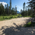 Typical site at Alturas Lake Campground.- Alturas Lake Inlet Campground
