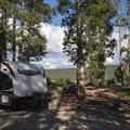 Typical site at Smokey Bear Campground.- Smokey Bear Campground + Boat Launch