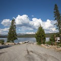 Boat launch.- Smokey Bear Campground + Boat Launch