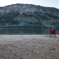Evening on Alturas Lake.- Alturas Lake Inlet Day Use Area