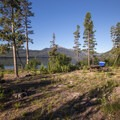 Picnic site on Alturas Lake.- Alturas Lake Picnic + Day Use Area