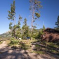 Tent-only camping area at Alturas Lake.- Alturas Lake Tent-Only Campsites