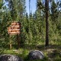 Mountain View Campground sits on the shore of Little Redfish Lake.- Mountain View Campground
