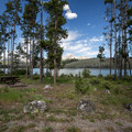 Waterfront site at Mountain View Campground.- Mountain View Campground