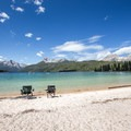 Warm sandy beaches await at Redfish Lake. - Redfish Lake Outlet Day Use Area