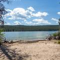 Redfish Lake.- Point Campground