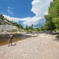 Charlie's Hole is a great fishing area as well.- Yampa River, Charlie's Hole