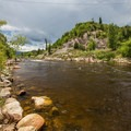 The Yampa river.- Yampa River Core Trail