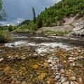 Yampa River and Soda Creek.- Yampa River Core Trail