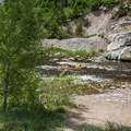 Yampa River is ideal for tubing.- Yampa River Core Trail