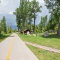 The Yampa River Core Trail at Little Toots park.- Yampa River Core Trail